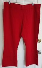 Sport Savvy 3XP Red Petite Pants - 92 % Cotton/ 8 % Spandex - New Without Tags
