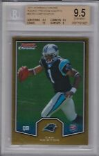 Cam Newton, 2011 Bowman Chrome Gold Refractor, Rookie!!! BGS 9.5