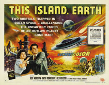 "This Island Earth Movie Poster Replica 14 x 11"" Photo Print"