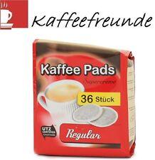 36 CAFECLUB SUPERCREME KAFFEEPADS NORMALE RÖSTUNG / REGULAR