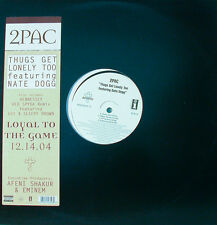 """2pac feat. Nate Dogg-thugs Get solitaire too 12"""" Maxi (k616)"""