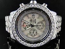 Su Misura da Uomo Breitling Super Avenger Intera Orologio con Diamanti 32 Kt