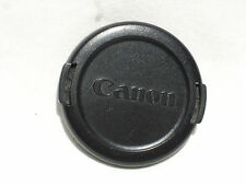 one genuine CANON  58mm front lens cap  All black.   E-58mm  Japan