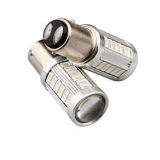 2x Red Light LED 1157 BAY15D 5730 P21/5W 33SMD Stop Tail Brake Light Bulb 12V