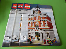 Lego de recette 10224 Hôtel de Ville, pas de pierres (only Instruction, no Bricks)