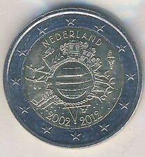 2 euros conmemorativa 2012 Países Bajos euro-dinero en efectivo