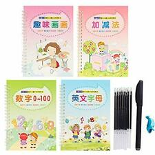 Kids Magic Writing Board Reusable Magic Writing Paste Children