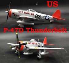 Easy Model 1/72 USAF P-47D Thunderbolt  Fighter Plastic Model #39204