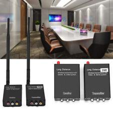 2,4 GHz Sans Fil Audio Video Émetteur AV Expéditeur & Adaptateur Récepteur EU