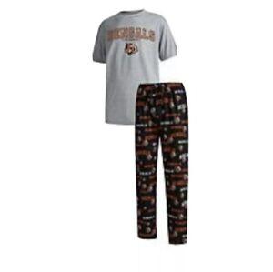 NFL Concept Sports MENS Fairway PJ Set Bengals1 Size Medium
