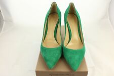 GIANVITO ROSSI GREEN SUEDE PUMPS, UK 6 - RRP £495