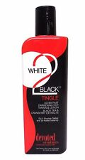 White 2 Black Tingle Ultra Fast Darkening Tanning Lotion 8.5 Ounce