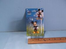 "Disney's Mickey Mouse Figure or Cake Topper 2.5""in PVC  New in Re-Glued Package"