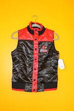New NCAA Louisville Cardinals polyester vest jacket women's S