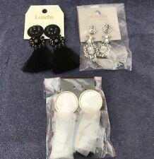 Tassel Earrings 3 Pairs Brand New