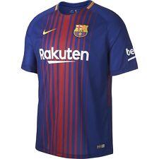 Camisetas de fútbol de clubes españoles 1ª equipación de manga corta talla S
