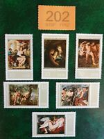 Germany DDR - 1977  - 400th Birth Anniv of Peter Paul Rubens.  MNH !
