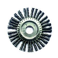 115mm Wheel Brush  Steel Wire Bevel Twisted Knot Bench Grinder Abrasives