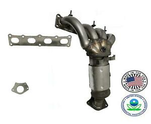 Front Radiator Side Manifold Catalytic Converter Fits 2015-18 Jeep Renegade 2.4L