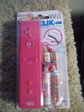 Nintendo Wii Klik-On Candy Dispenser (2010) Pink - Collector's Item - NIP