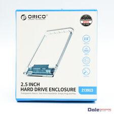 E50205 ORICO 2139US3 2.5 inch USB 3.0 SATA III External HDD SSD Enclosure Case
