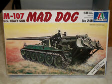 "Italeri 1/35 Scale M-107 ""Mad Dog"", U.S. Heavy Gun"