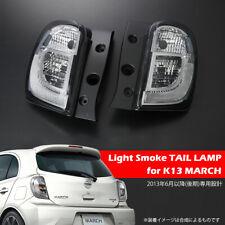 Nissan K13 March / Micra  2013/6~ Tail Lamp Light smoke Lens 2PC/1SET