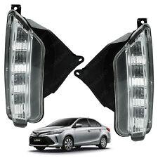 Daytime Running Light Lamp DRL Kit Set For Toyota Yaris Vios Sedan 2017 +
