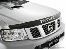 Nissan Patrol GU Bonnet Protector Smoked F5166-VD100AU