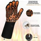 Glove Heat Resistant Bbq Oven Cooking Silicone Mitts Kitchen Grilling Grill Pot