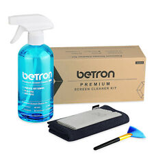Betron Screen Cleaner Kit Premium Professional Tech Device Cleaner 4 Piece Set