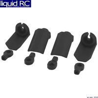 RPM R/C Products 80402 Shock Shaft Guard Black Traxxas 1:10 scale shocks (4)
