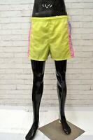 Costume FILA Uomo Taglia 48 Mare Piscina Bagno Pantaloncino Shorts Giallo Corto