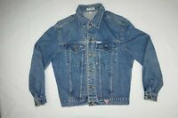 Georges Marciano for GUESS 1980s Vintage Denim Size M Blue Jean Jacket USA Made