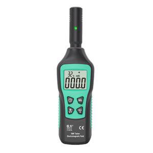 EMF Meter Electromagnetic Radiation Detector Electromagnetic Wave Tester UK M8J5