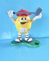 Collection M & M's Jaune Golf  distributeur Cacahuète Bonbons Chocolat Juke Box