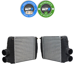 Driver Left and Passenger Right Intercoolers for 14-20 Maserati Ghibli Levante