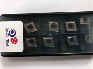 CCMT 09T304 CARBIDE TURNING INSERTS (Read Description For My Quality Guarantee)