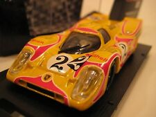 Brumm (Italy) Yellow/Red  Porsche 917K (Shell/Martini) Diecast 1:43 NIB