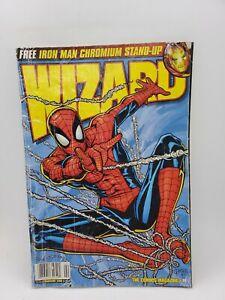 Wizard Comic Magazine. Vintage price guide. 1997. Spider-Man cover. Boba Fett
