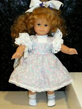 "Htf Gotz 18"" Redhead Blue Eye Doll Signed Marianne Gotz w/Box Mint American Girl"