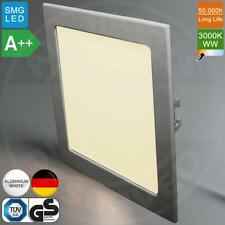 MIA Light Einbau LED Panel 225x225mm | A++ | 22W | 3000K | Warmweiß | Quadrat (