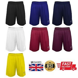 GetFit Mens Football Shorts Jogging Running Gym Sports Breathable Fitness DryFit