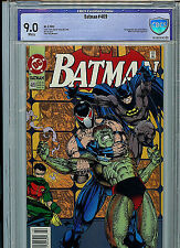 Batman #489 CBCS Graded 9.0 1993 DC Comics 1st Azreal as Batman
