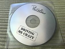 PHIL COLLINS - DRIVING ME CRAZY CD SINGLE SPAIN 1 TRACK PROMO