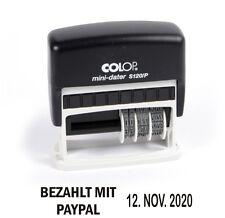 Bezahlt mit Paypal COLOP S120/P Stempel mit Datum Selbstfärber (Pay Pal) [#1197]