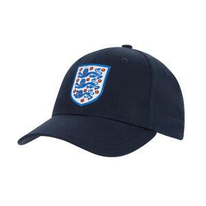 England Core Football Supporter Fan Baseball Cap Hat Navy Blue