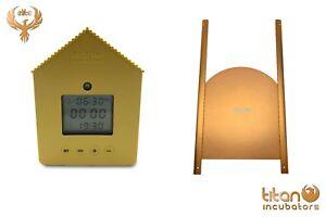 Titan Automatic Chicken Coop Door Opener with Light Sensor & Timer + Curved Door