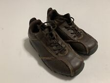 Timberland Boys Size 10 48811M Shoe Brown Leather EUC