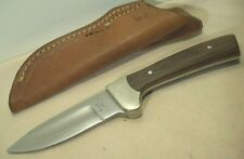 1970's~RIGID USA~DROP POINT HUNTER~UNUSED~HIGH END HUNTING KNIFE w/ORIG. SHEATH~